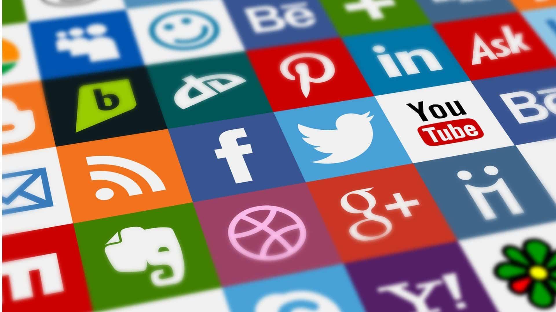 Кнопки социальных сетей на лендингах