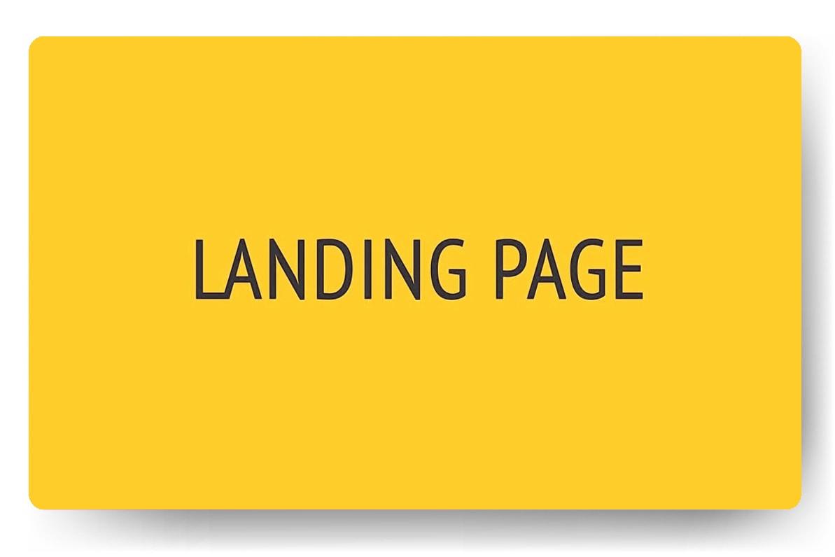 Заказать Landing Page под ключ